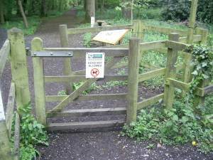 Entrance to Moorlands