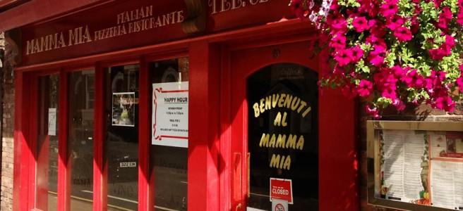 Mamma Mia,, Gillygate, York