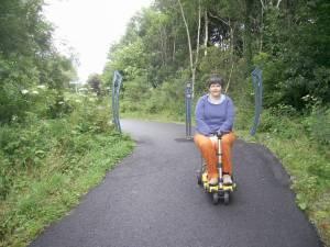 Cycle path near Benderloch
