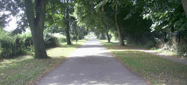 Riverside walk, York