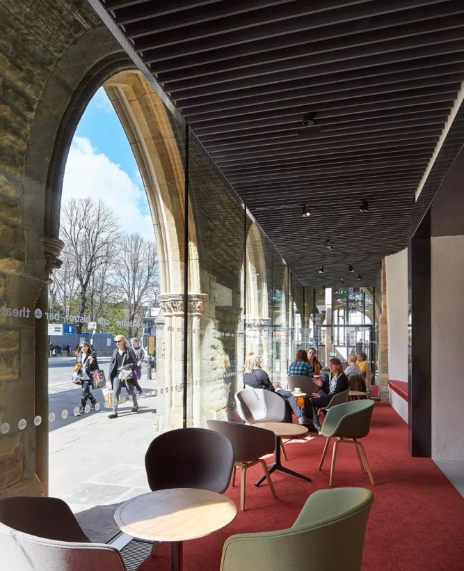 Café, Theatre Royal (dezeen.com)