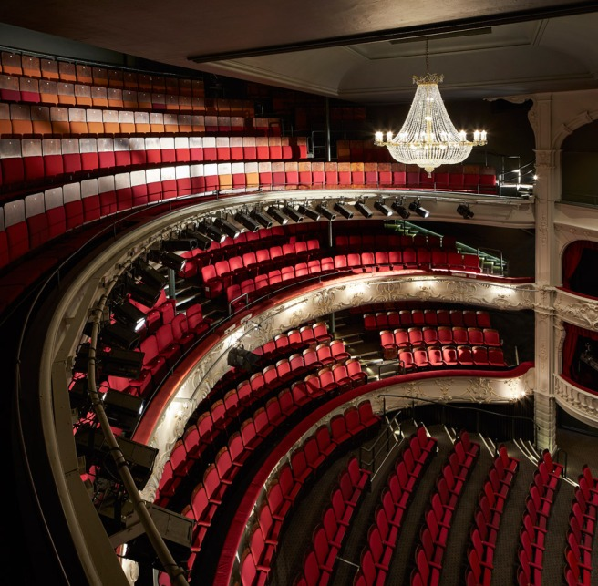 The auditorium, Theatre Royal (dezeen.com)