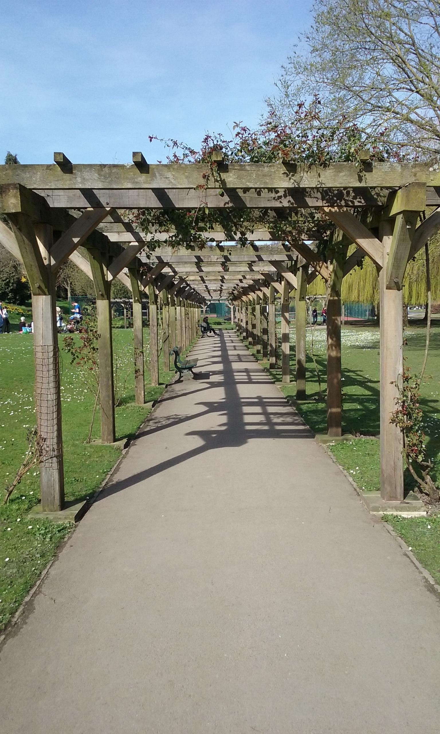 Pergola, Rowntree Park, York