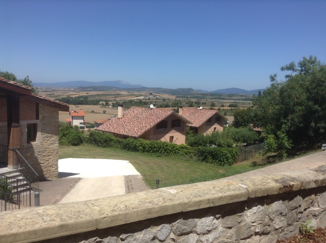 View from the Parador de Argómaniz