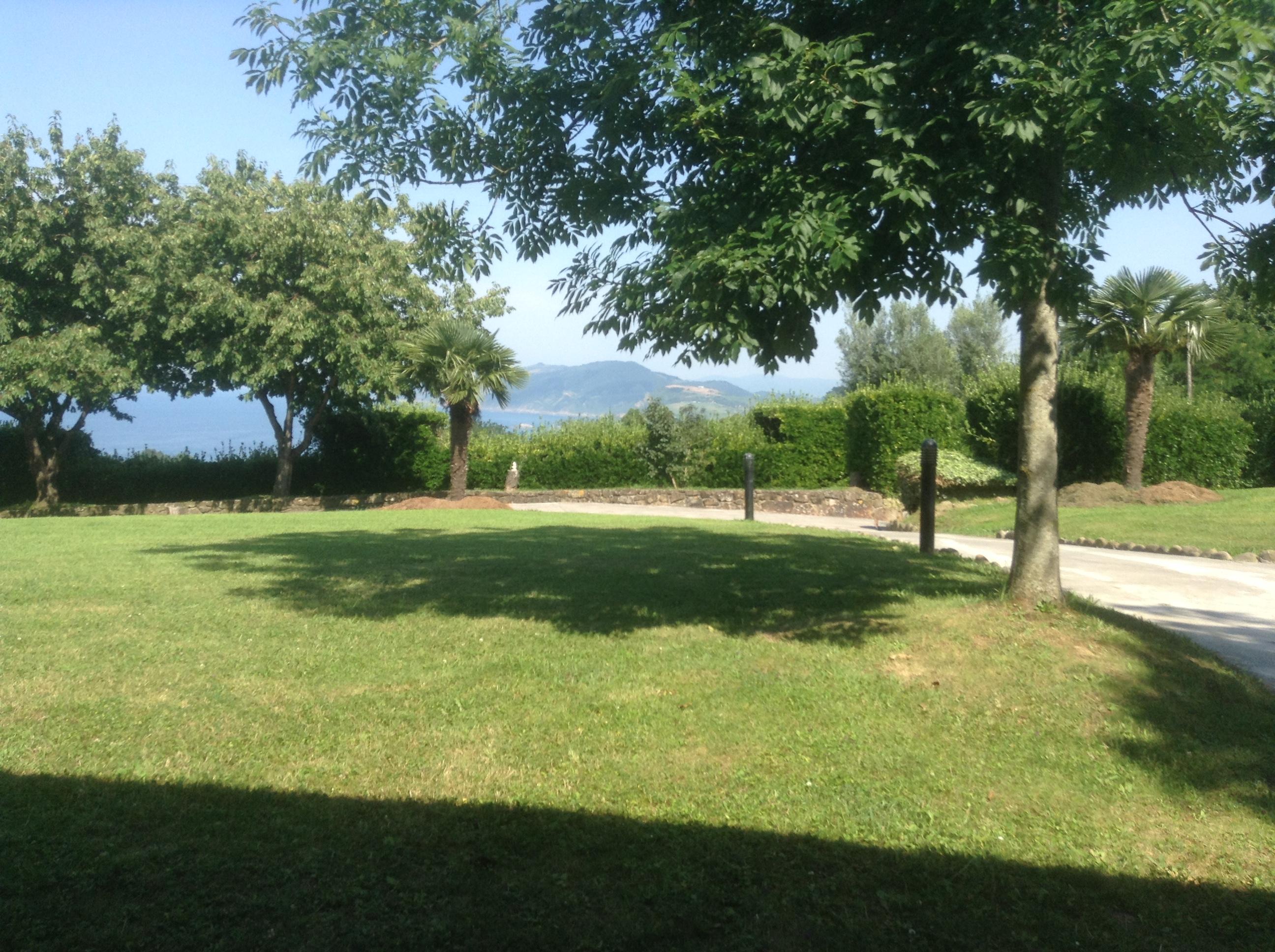 The view from the terrace of Mahastí, Epotx Etxea, Getaria, Pais Vasco