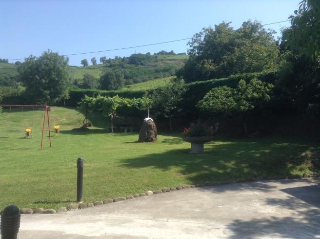 The garden, Epotx Etxea, Getaria, Pais Vasco