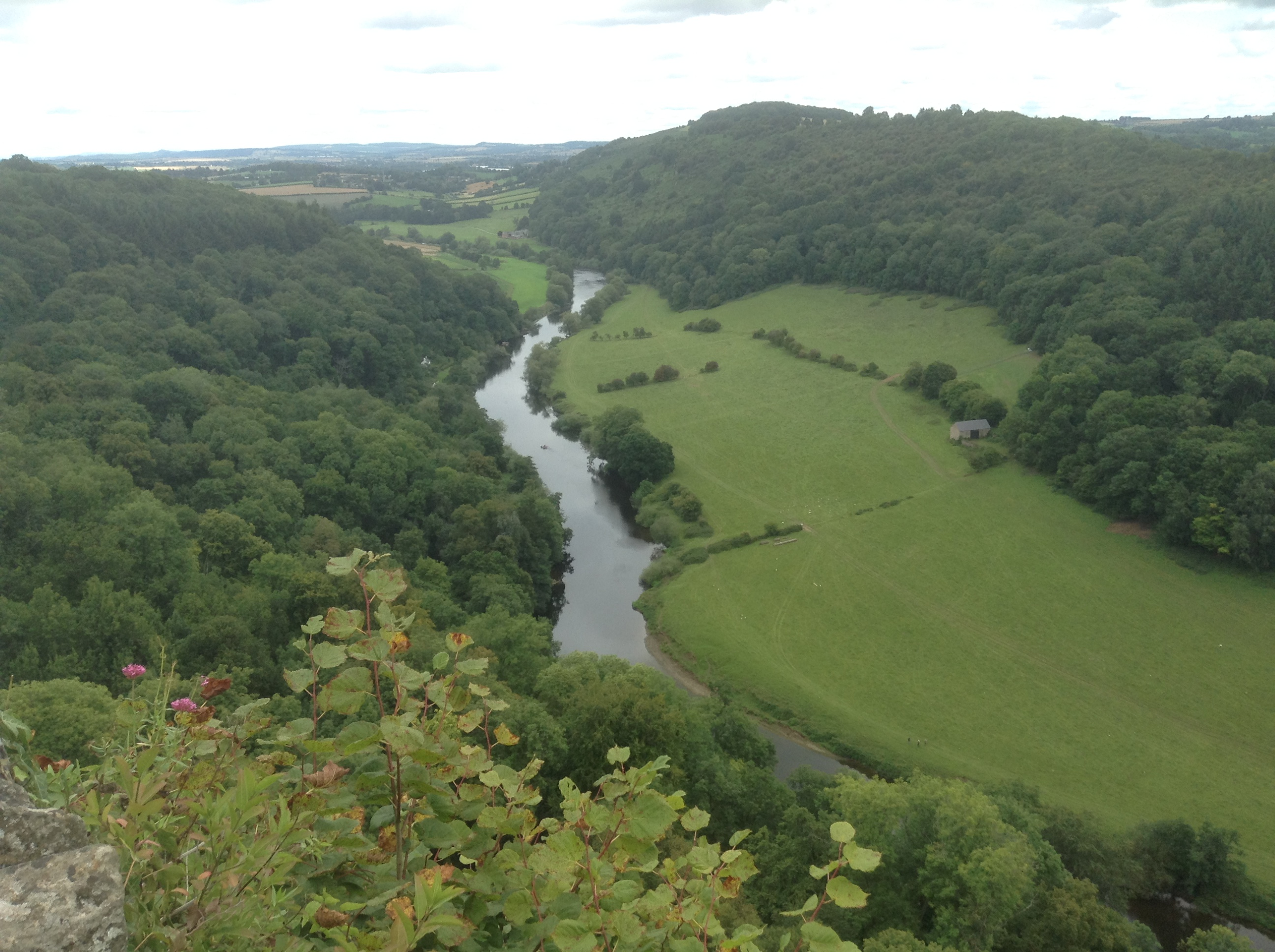 The river Wye from from Yat Rock