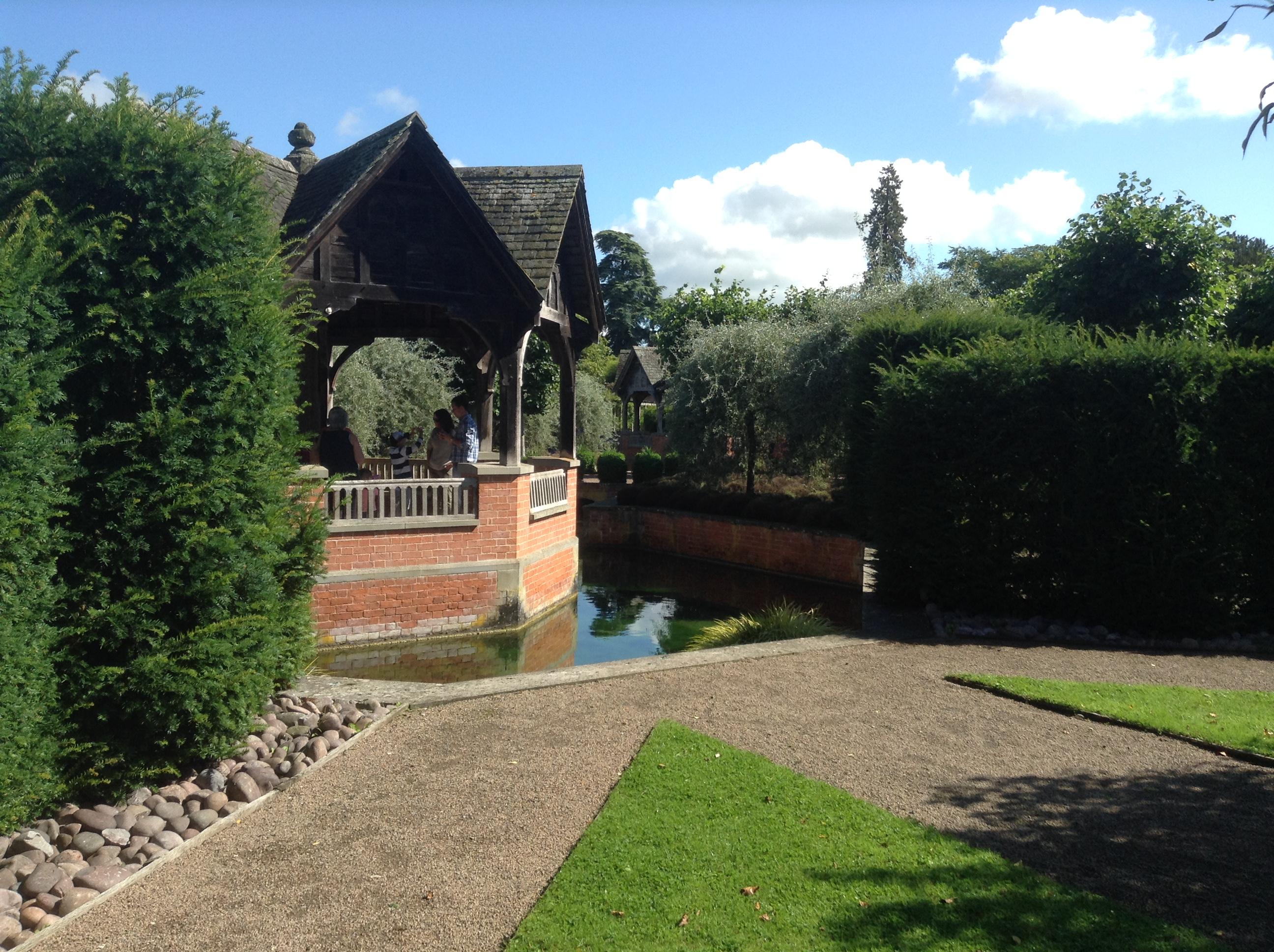 The walled garden, Hampton Court Castle, Herefordshire