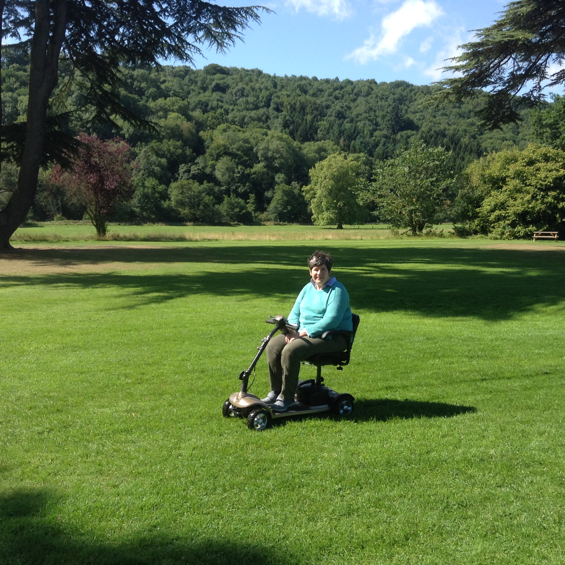 The lawns, Hampton Court Castle, Herefordshire