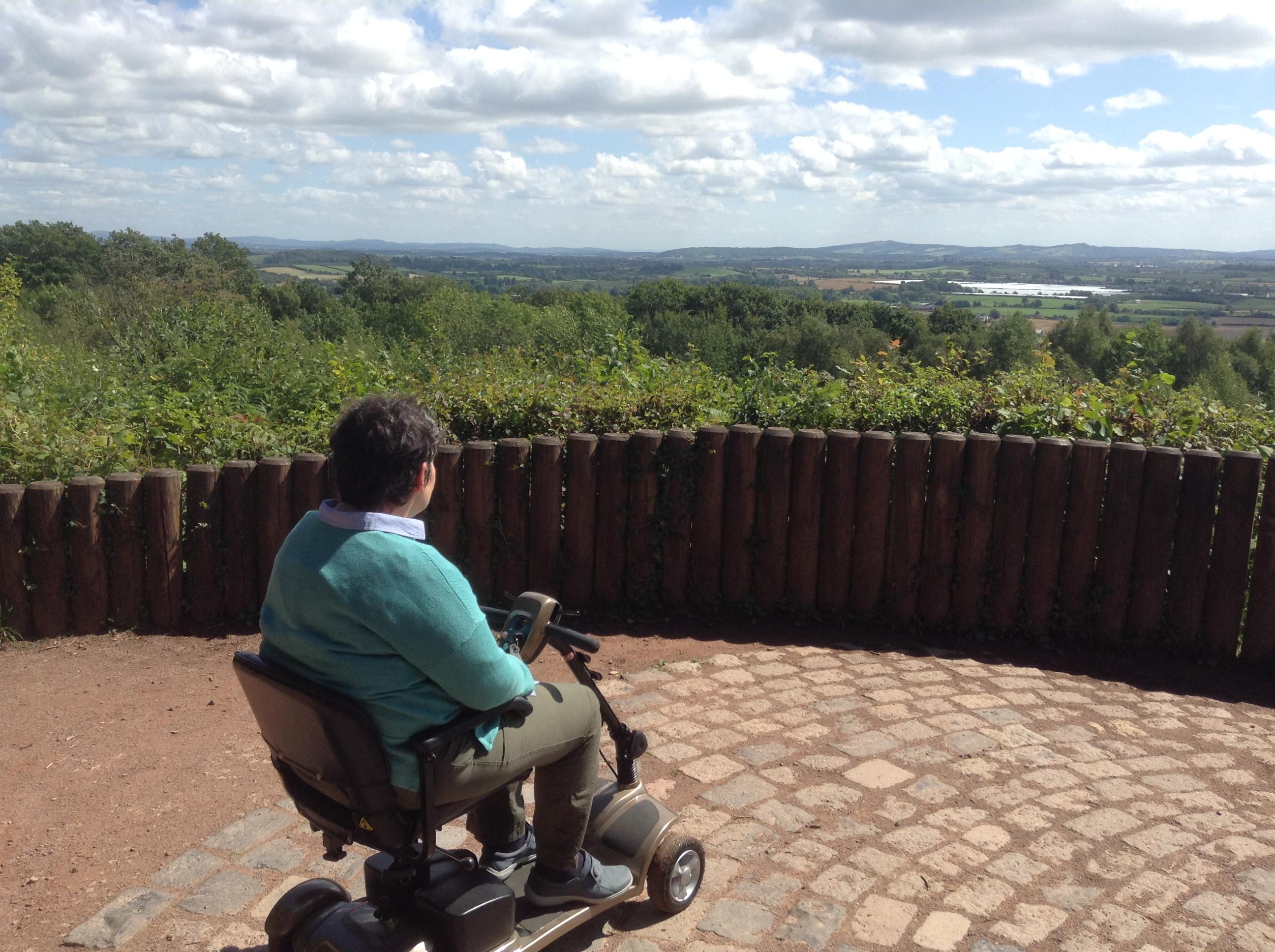 Amazing view at Queenswood Arboretum, Herefordhsire