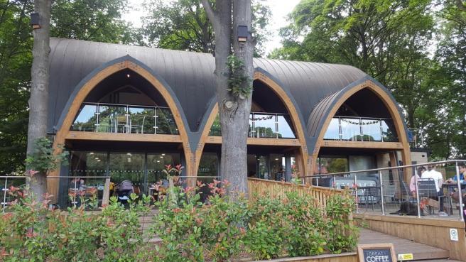 Sylva café, Oakwood, Leeds