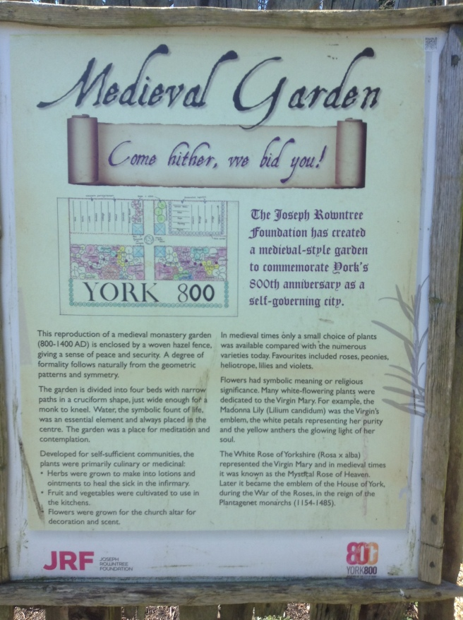 Medieval Garden at The Homestead