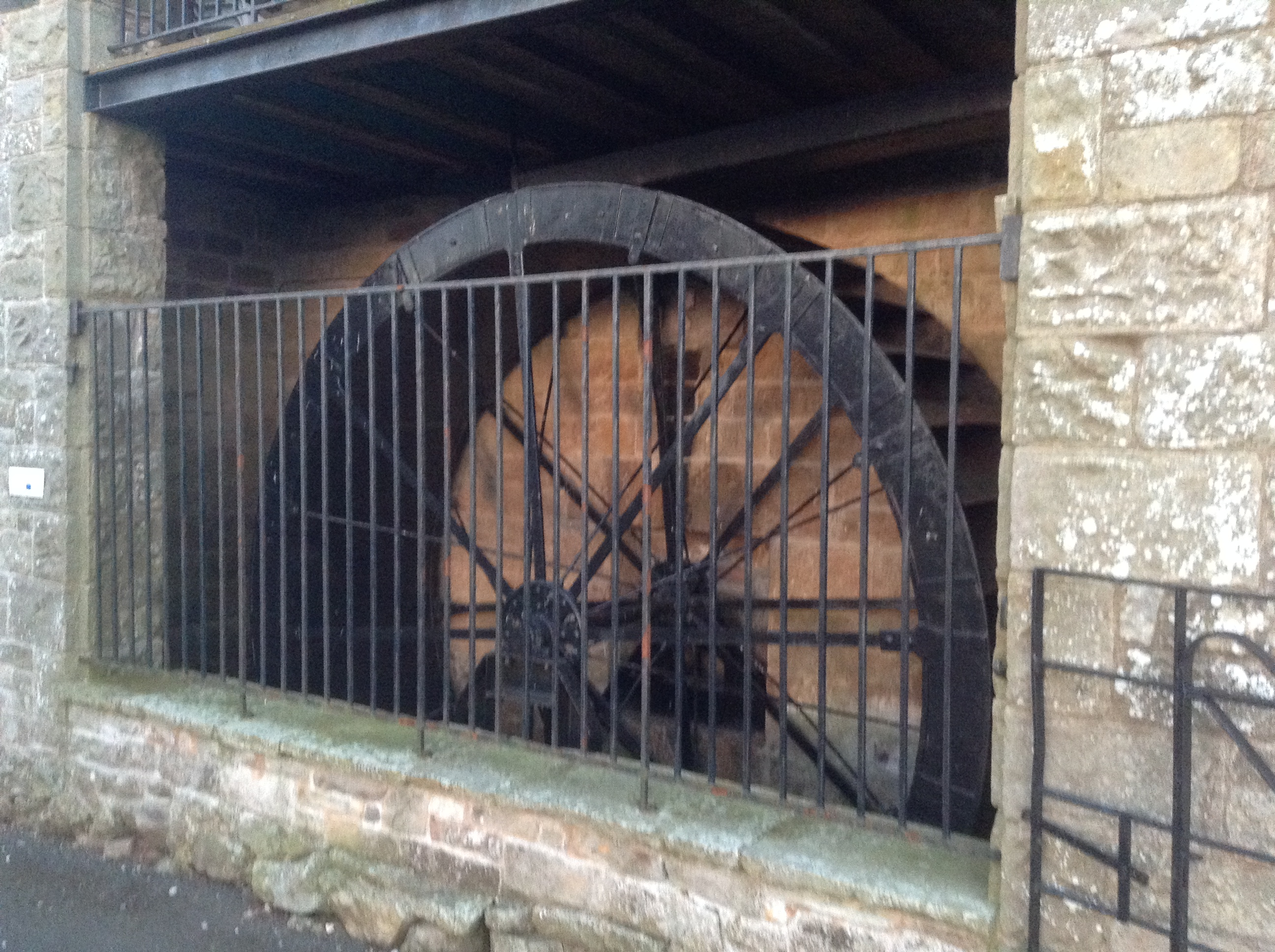 Waterwheel at Tottergill Farm