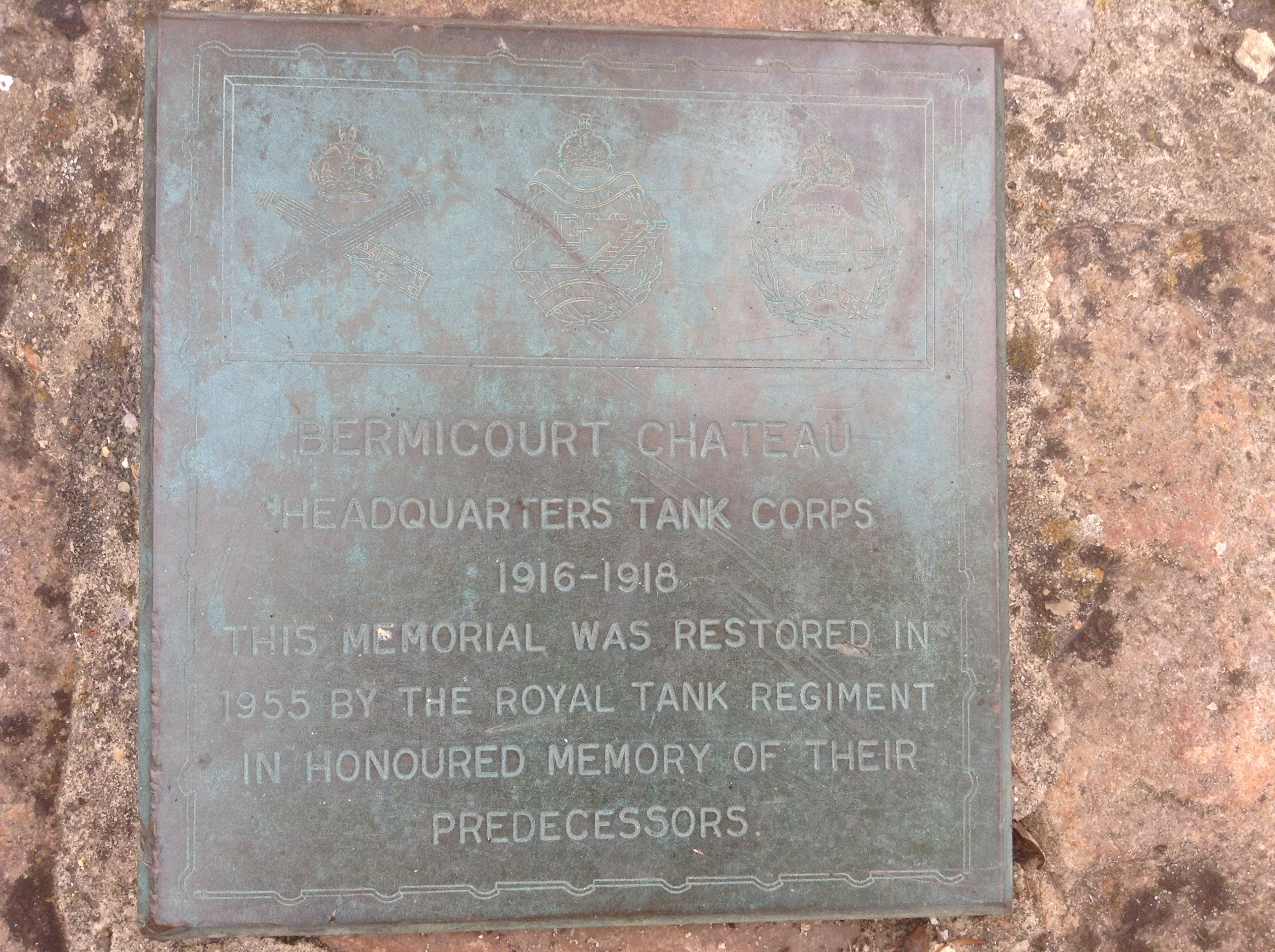 Tank Corps memorial, La Cour de Rémi