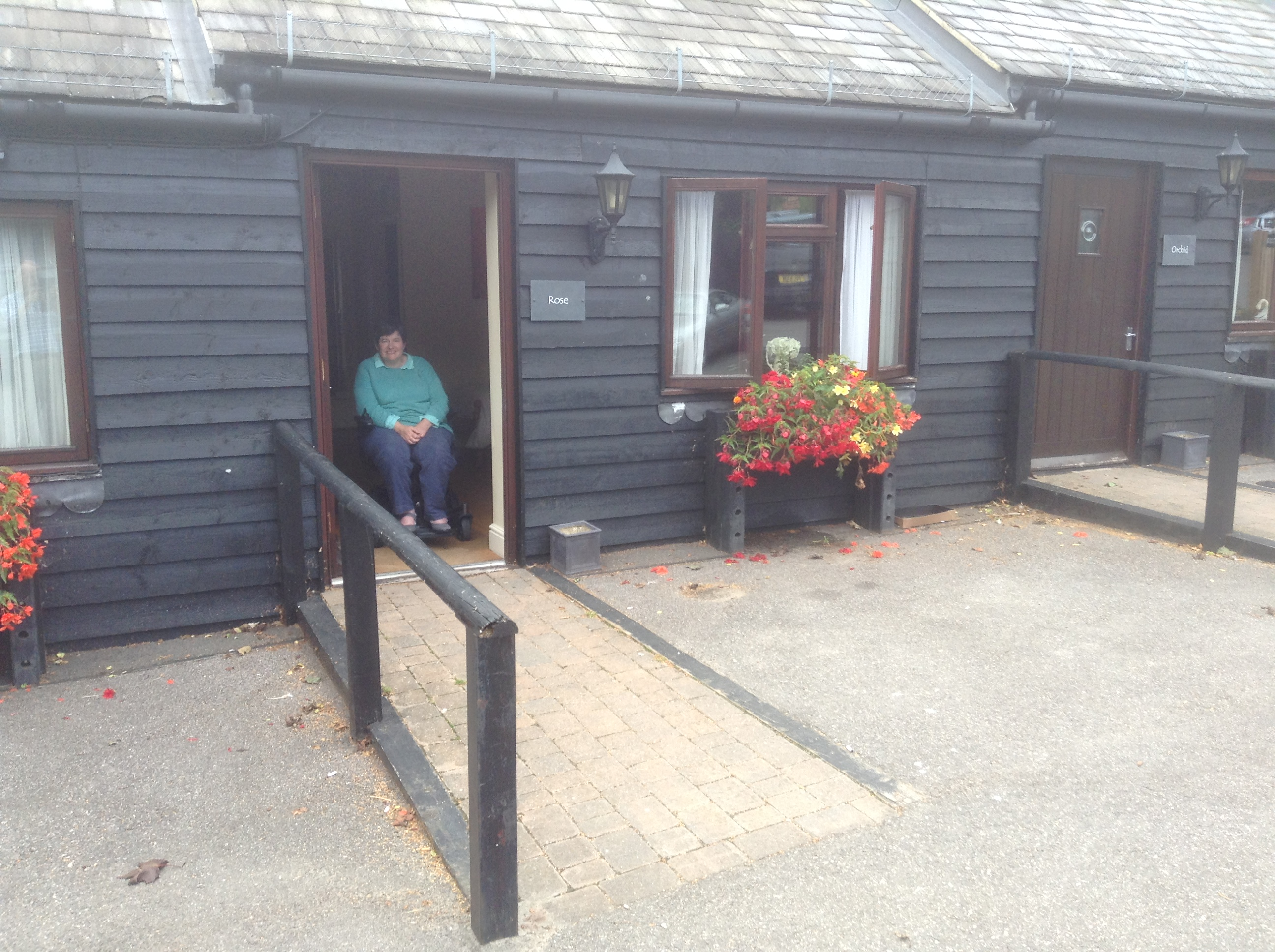 Accessible, family rooms at The Black Horse, Thurnham, Kent