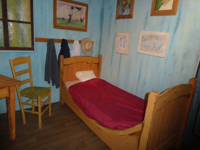 Reproduction of Van Gogh's room at Arles