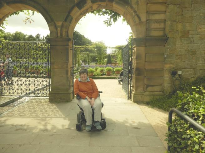 Entrance to the Ornamental Garden