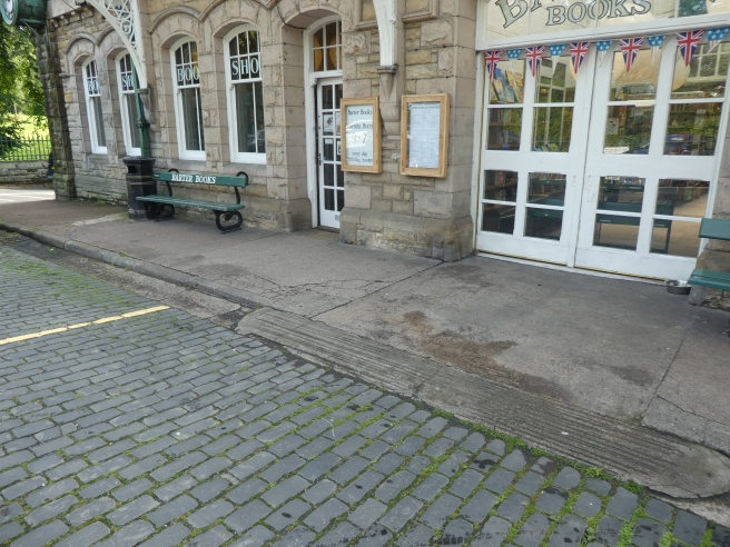 Barter Books in Alnwick is accessible!