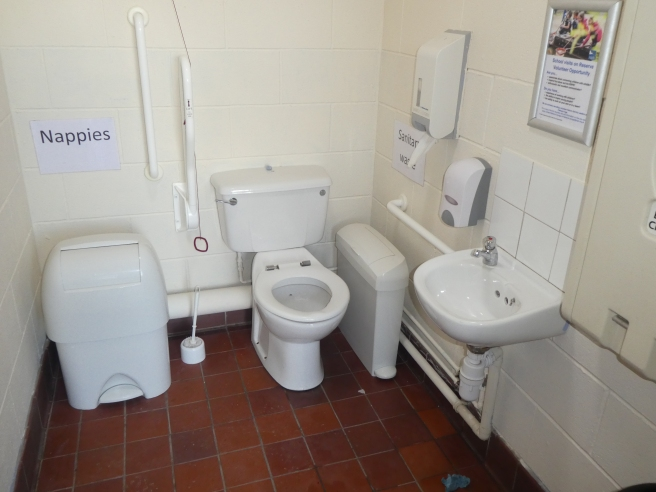 Accessible loo, Fairburn Ings