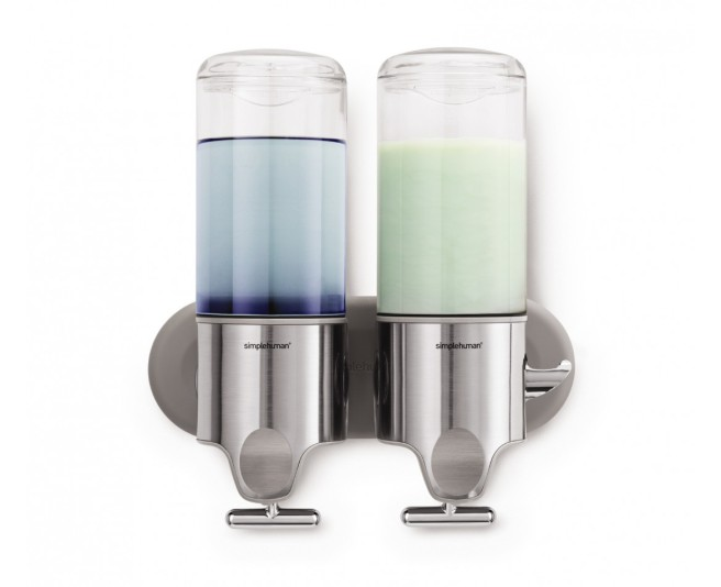 Wall-mounted dispensers from simplehuman.com