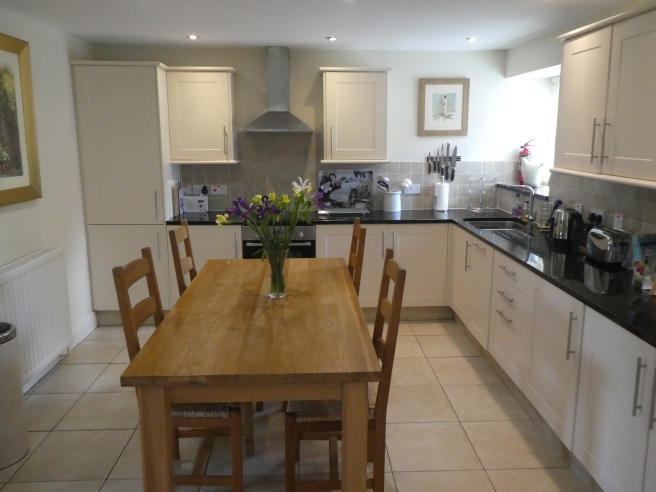Kitchen and dining area, Fox Cover, Doxford Cottages